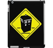 TARDIS Crossing iPad Case/Skin
