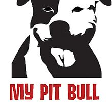 My pitbull is my copilot by zalfotarum