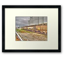 Four in a Line Framed Print