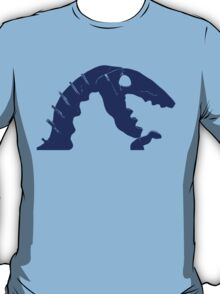 Dino Roar in Blue T-Shirt
