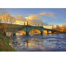 Wade's Bridge at Aberfeldy Photographic Print