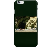 Sitting Under a Cliff iPhone Case/Skin
