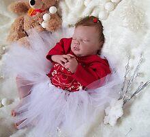 Christmas reborn doll by Cassie Peek