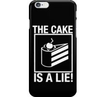 The Cake is a Lie Portal iPhone Case/Skin