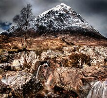 View of Buchaille by Linda  Morrison