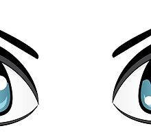 Colorful Male Eyes 6 by AnnArtshock