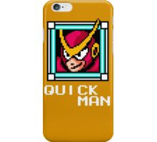 Quick Man iPhone Case/Skin