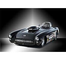 1957 Corvette 'Competition Style' Photographic Print