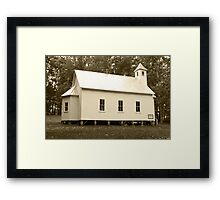 Missionary Baptist Church Framed Print