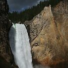 Lower Falls of the Yellowstone River, 308 feet by Bryan Turner