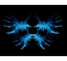 wings fractal 1e Photographic Print