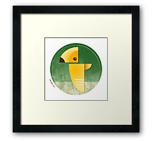 Undiscovered Species - Omega Yellow Framed Print