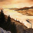 SteamBoat Echoes by Joseph Ouellette