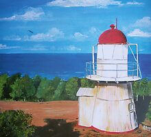 Lighthouse, Cook Town, Australia by © Linda Callaghan