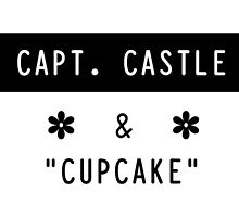 Capt. Castle & Cupcake by gabbletella