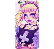Pastel Goth Usagi (Glasses OFF) iPhone Case/Skin