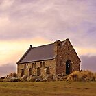 Church of the Good Shepherd, Tekapo, NZ by John Brotheridge
