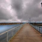 Amble Pier - Northumbria by eddiej
