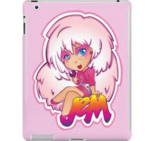 Truly Outrageous: Jem! (version 2)  iPad Case/Skin