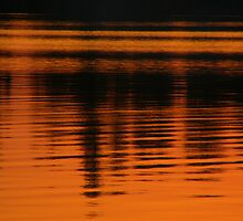 Abstract Sunset by Stan Wojtaszek