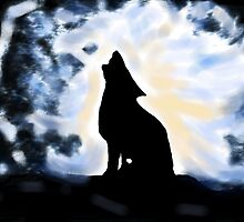 Howling up a Storm by Dawn B Davies-McIninch