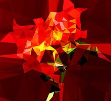 red polygone object by hennigdesign