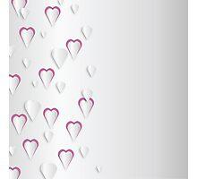 Heart Drops Photographic Print