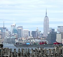 New York Skyline by Marilyn Jones
