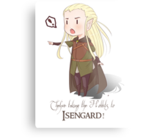 They're Taking the Hobbits to Isengard! Metal Print