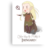 They're Taking the Hobbits to Isengard! Canvas Print