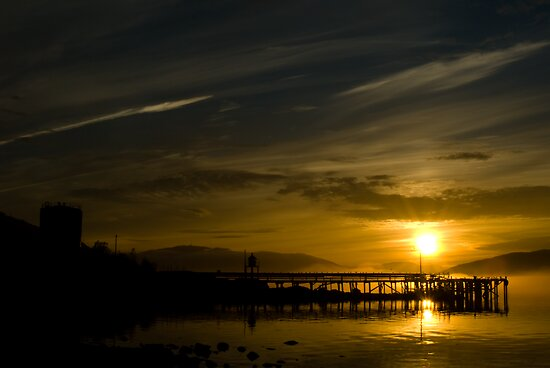 Sunset In Mo I Rana by geirkristiansen
