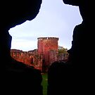 Bothwell Castle Tower by wildrose1723