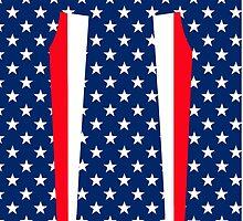 American Flag Leggings by Greenbaby