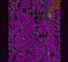 Maine USGS Historical Map Newport 806956 1982 24000 Inversion by wetdryvac