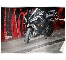 graffiti bike Poster