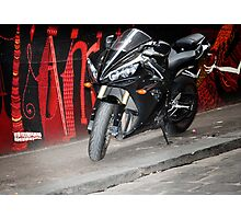 graffiti bike Photographic Print