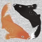 Ying Yang Goldfish by Celinda