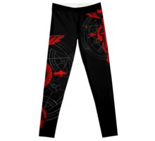 Full of Alchemy - Fullmetal Alchemist Flamel Leggings
