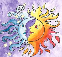 Moon and Sun by Deb Coats