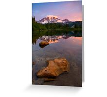 Red Mountain Dawn Greeting Card