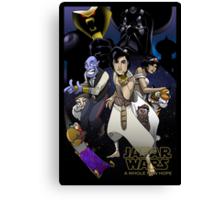 Jafar Wars: A Whole New Hope Canvas Print