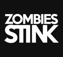Zombies stink Kids Clothes