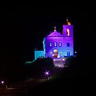 Night view of Nossa Senhora de Nazareth Church by Frans Harren