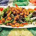 Calamari Salad with Peri Peri Sauce by heatherfriedman