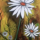 Forest Daisies  by  Linda Callaghan