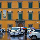 PISA  TAXIS AND RAIN by Thomas Barker-Detwiler