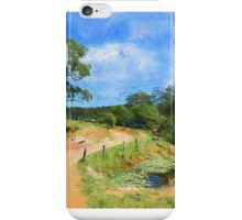 End of the Road. iPhone Case/Skin