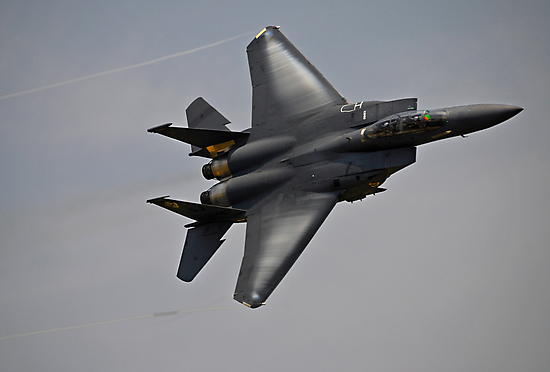 F-15E Strike Eagle by Andy Mueller