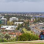 Perth City from Kings Park, Western Australia #3 by Elaine Teague