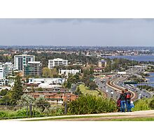 Perth City from Kings Park, Western Australia #3 Photographic Print